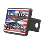 Legalize Freedom Rectangular Hitch Cover