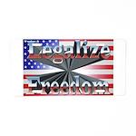 Legalize Freedom Aluminum License Plate