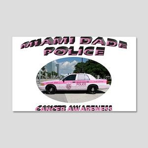 Miami-Dade Police 20x12 Wall Decal