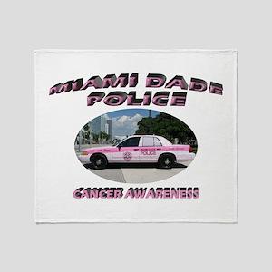 Miami-Dade Police Throw Blanket