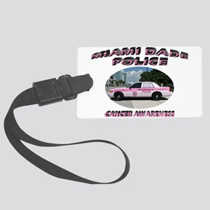 Miami-Dade Police Large Luggage Tag
