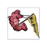 nocrawfish Square Sticker 3