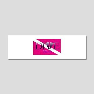 Dive Diva Fins Car Magnet 10 x 3