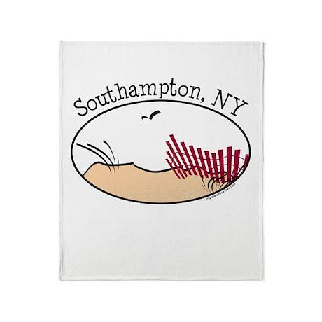 Southampton NY Throw Blanket