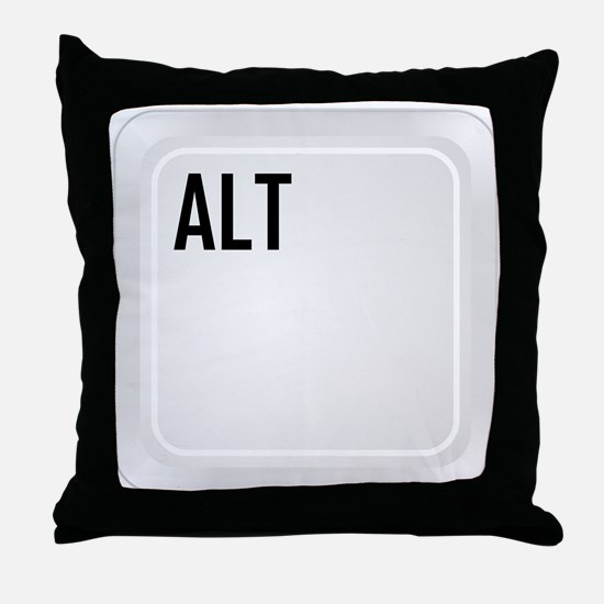 ALT (top corner) Throw Pillow