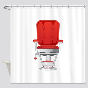 Barber's Chair Barber Shop Shower Curtain