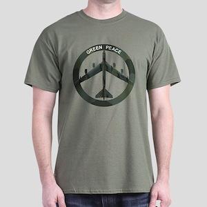 B-52 Peace Sign Dark T-Shirt