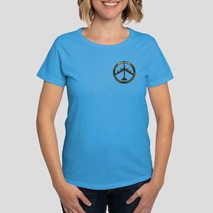 B-52 Peace Sign Women's Dark T-Shirt