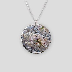Tree Blossoms in Decatur Georgia Necklace Circle C