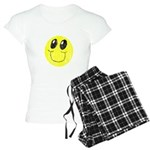 Vintage Smiling Smiley Face Women's Light Pajamas