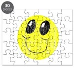 Vintage Smiling Smiley Face Puzzle