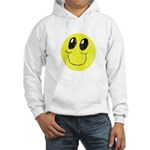 Vintage Smiling Smiley Face Hooded Sweatshirt