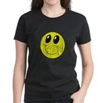 Vintage Smiling Smiley Face Women's Dark T-Shirt