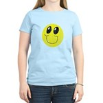 Vintage Smiling Smiley Face Women's Light T-Shirt