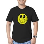 Vintage Smiling Smiley Face Men's Fitted T-Shirt (