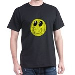 Vintage Smiling Smiley Face Dark T-Shirt
