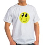 Vintage Smiling Smiley Face Light T-Shirt