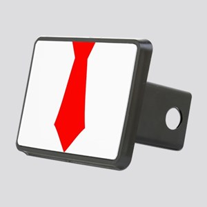 Red Tie Rectangular Hitch Cover