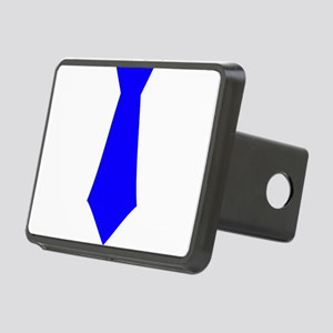 Blue Tie Rectangular Hitch Cover