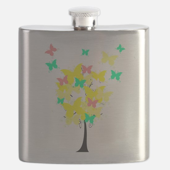 Yellow Butterfly Tree.png Flask