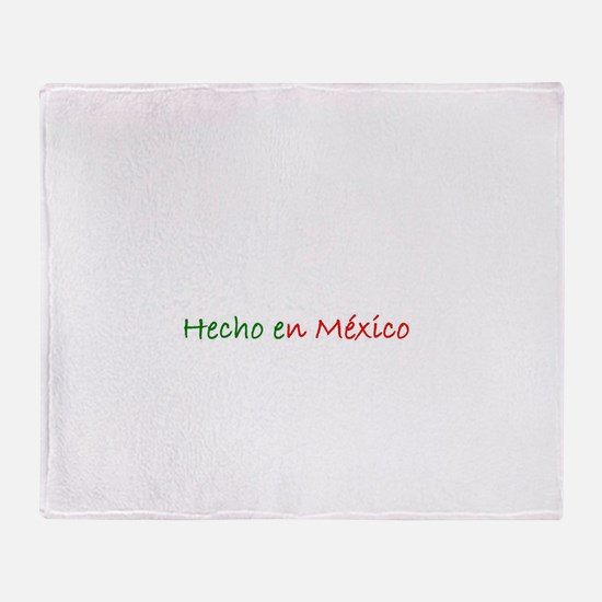 Mexican Pride Throw Blanket