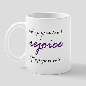 Rejoice! Mug