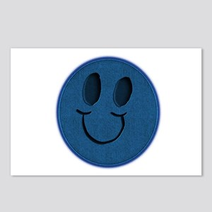 Blue Jeans Smiley Postcards (Package of 8)