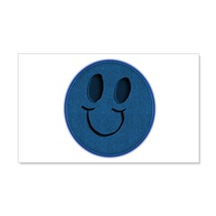 Blue Jeans Smiley Wall Decal