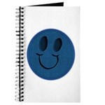 Blue Jeans Smiley Journal