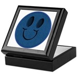 Blue Jeans Smiley Keepsake Box