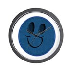 Blue Jeans Smiley Wall Clock