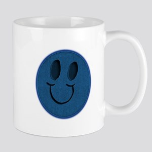 Blue Jeans Smiley Mug