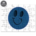 Blue Jeans Smiley Puzzle