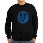 Blue Jeans Smiley Sweatshirt (dark)