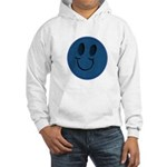 Blue Jeans Smiley Hooded Sweatshirt