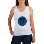 Blue Jeans Smiley Women's Tank Top
