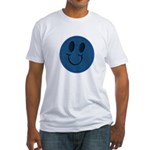 Blue Jeans Smiley Fitted T-Shirt