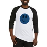Blue Jeans Smiley Baseball Jersey