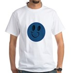 Blue Jeans Smiley White T-Shirt