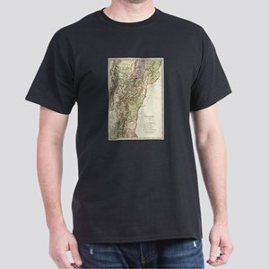 Vintage Map of Vermont (1797) T-Shirt