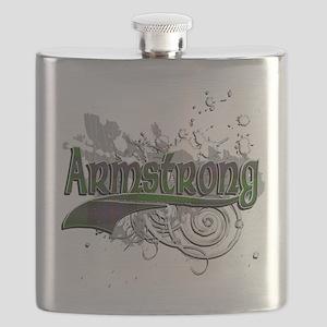 Armstrong Tartan Grunge Flask
