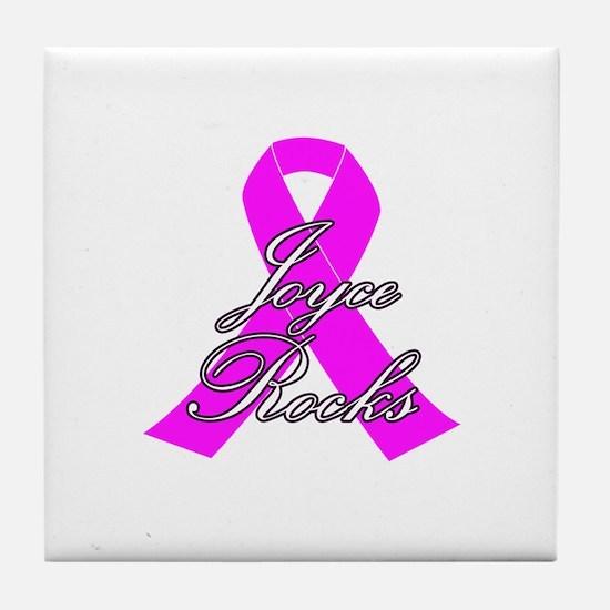 Mrs Joyce to be Tile Coaster