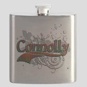 Connolly Tartan Grunge Flask