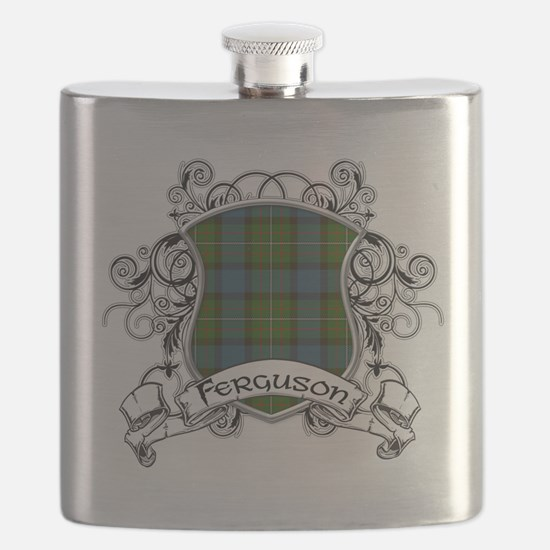 Ferguson Tartan Shield Flask