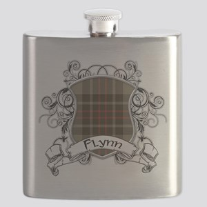 Flynn Tartan Shield Flask