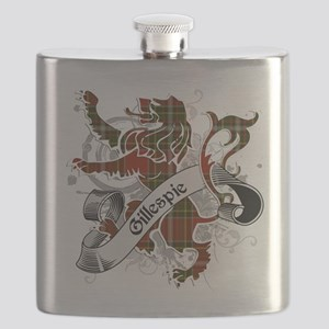 Gillespie Tartan Lion Flask