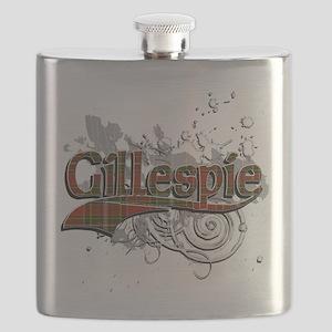 Gillespie Tartan Grunge Flask