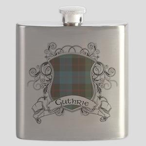 Guthrie Tartan Shield Flask