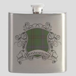 Henderson Tartan Shield Flask