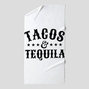 Tacos & Tequila Beach Towel